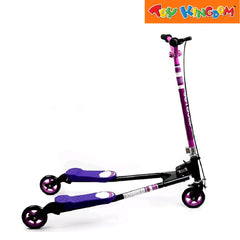 JB Swing 3-Wheel Scooter (Purple) for Kids