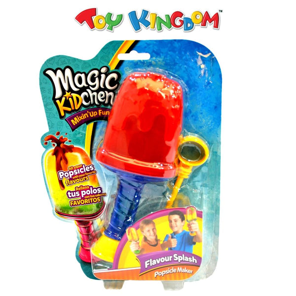 Magic Kidchen Flavour Splash Popsicle Maker Red Toy for Kids