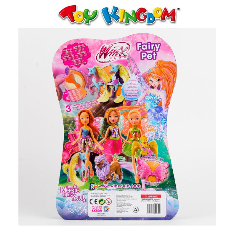 Winx Club Fairy Pet Flora Doll