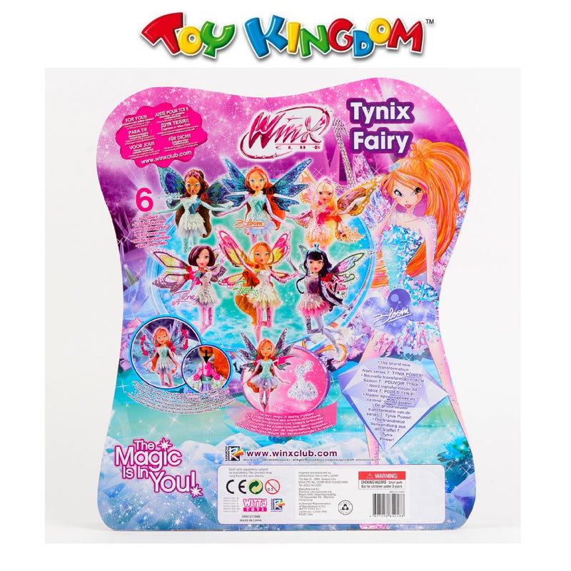 Winx Club Tynix Fairy Tecna Doll