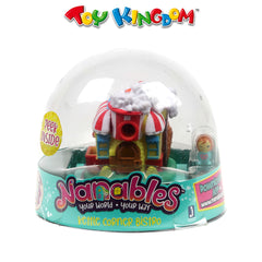 Nanables Your World - Your Way Kettle Corner Bistro Small House Toys for Kids