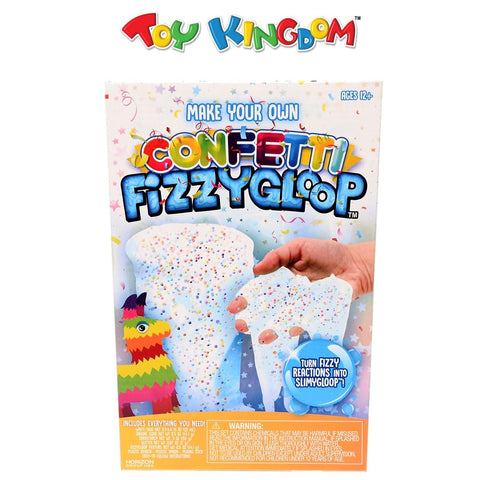 Fizzygloop Confetti DIY Kit Slime Playset for Kids