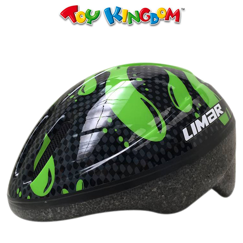 Limar 123 Glue On Green Paint Small Size Helmet for Kids