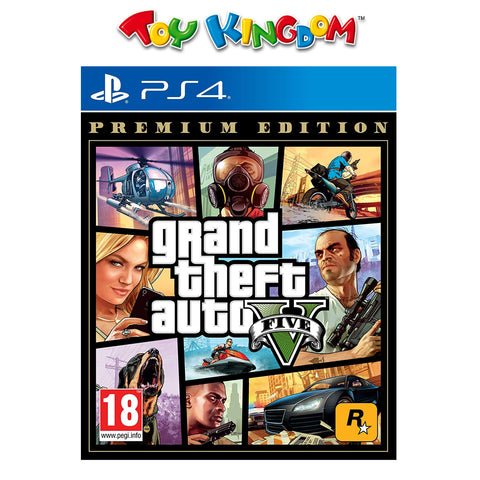 PS4 Grand Theft Auto 5 Premium Edition (R3)