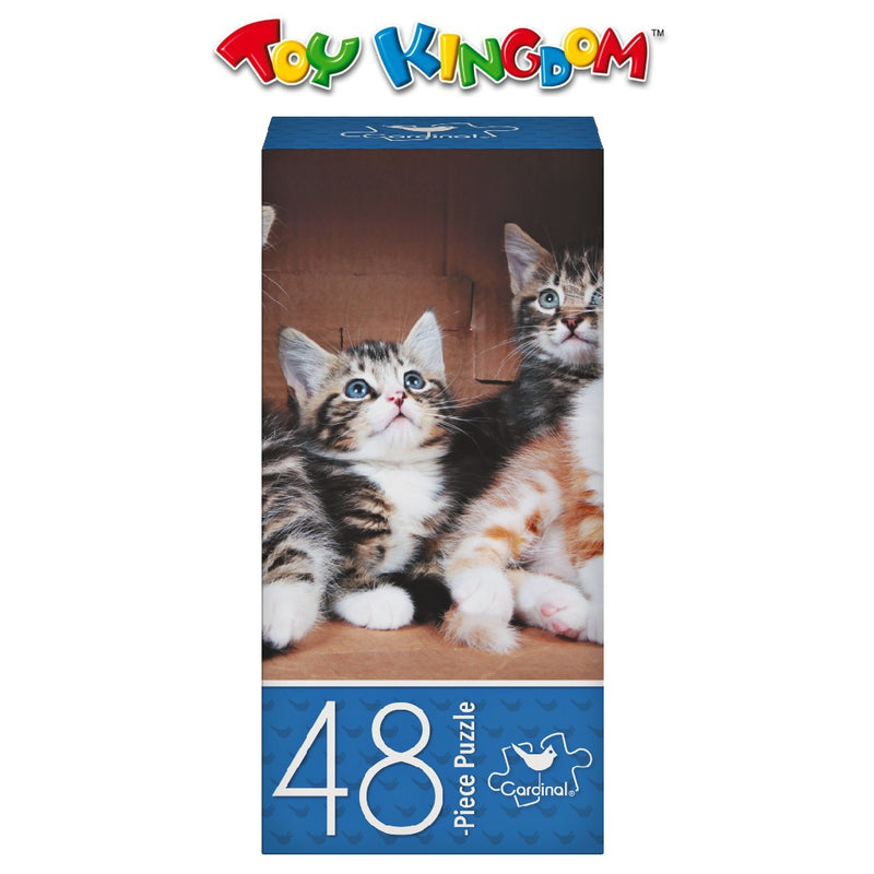 Cardinal Games 48-Piece Puzzle - Little Kittens in Box