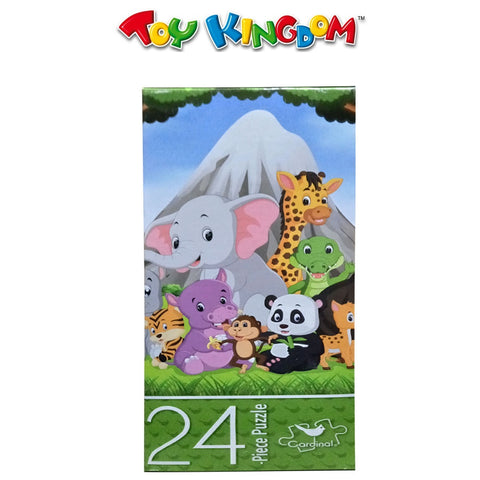 Cardinal Games 24-Piece Puzzle - Jungle Animals