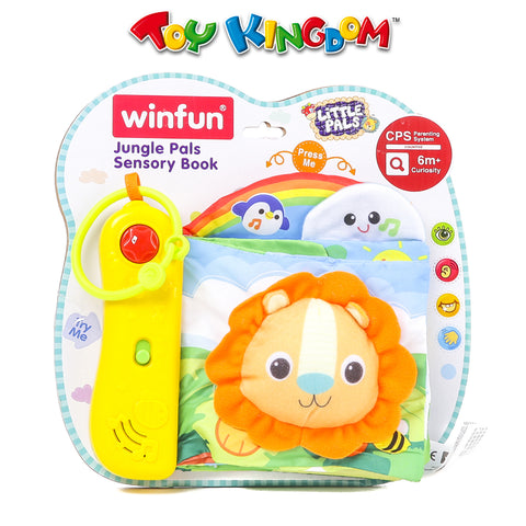 Winfun Jungle Pals Sensory Book for Kids