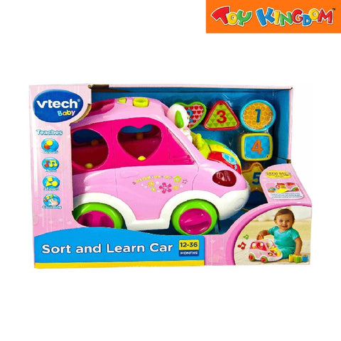 Vtech Baby Sort and Learn Car for Toddlers