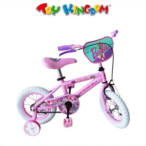 Barbie 12-inch Bike with Training Wheels for Girls
