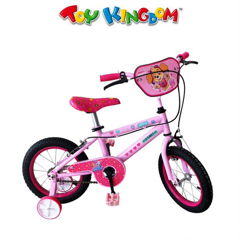 Paw Patrol 14-inch Bike with Training Wheels for Girls