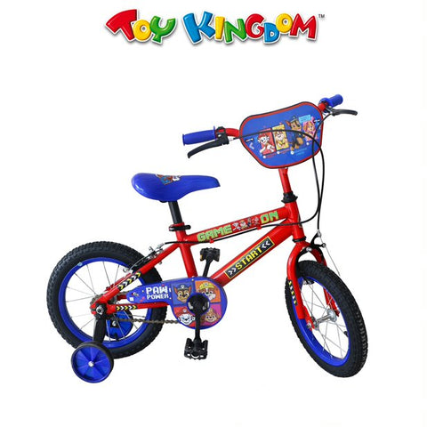 Hot Wheels 14-inch Bike with Training Wheels for Boys