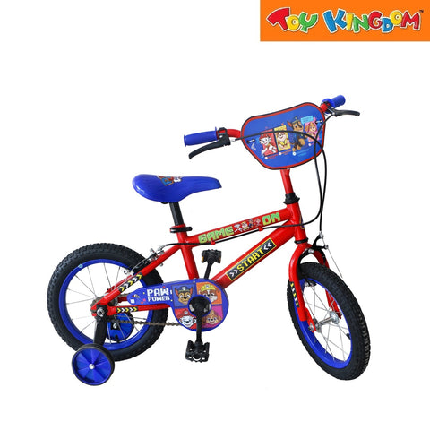 Paw Patrol 14-inch Bike with Training Wheels for Boys