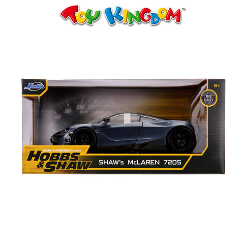 Fast & Furious Hobbs & Shaw: Shaw's McLaren 720s Die-Cast Vehicle for Kids