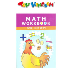 Learning is Fun Math Workbook For Nursery
