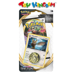 Pokemon Trading Card Game Sword and Shield Rebel Clash Checklane Blister