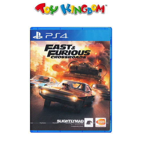 PS4 Fast & Furious Cross Roads (R3)