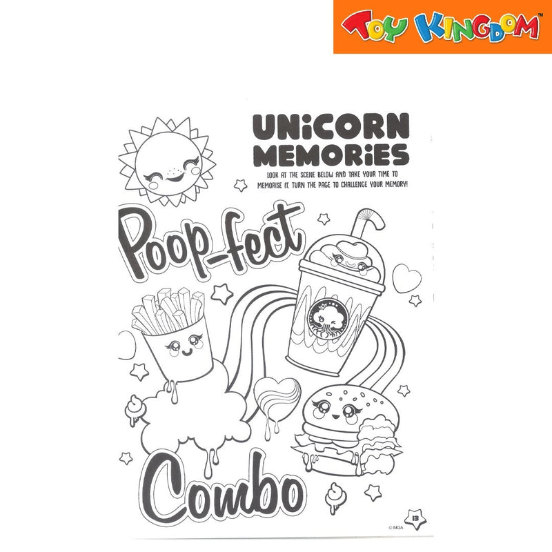 Poopsie Slime Surprise Deluxe Colouring Book for Kids