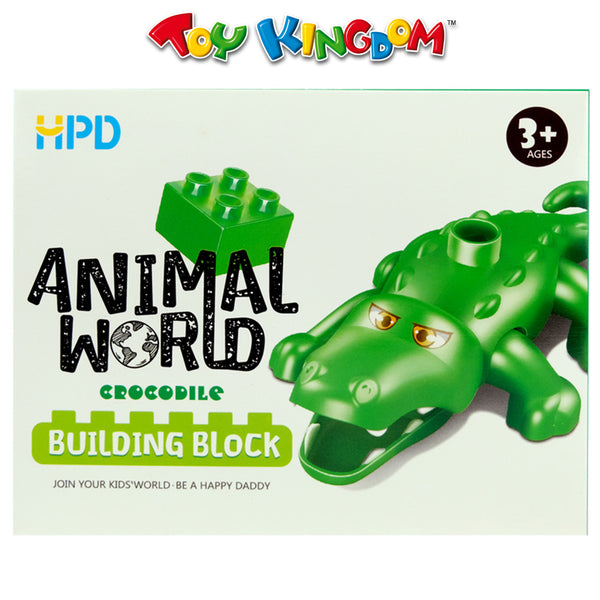 HPD Animal World Series Building Blocks Toy for Kids
