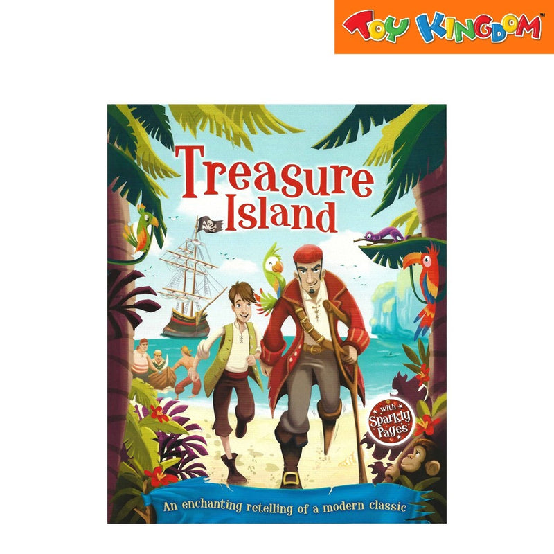 Learning is Fun Treasure Island Picture Flats Portrait