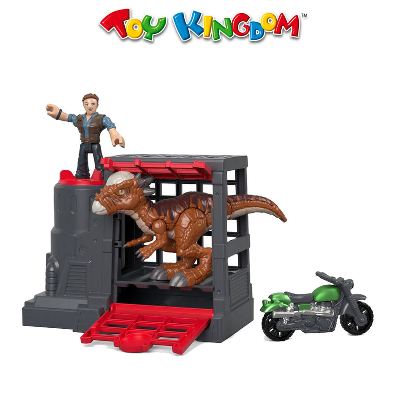 Jurassic World Feature Stygimoloch & Owen Toy for Boys