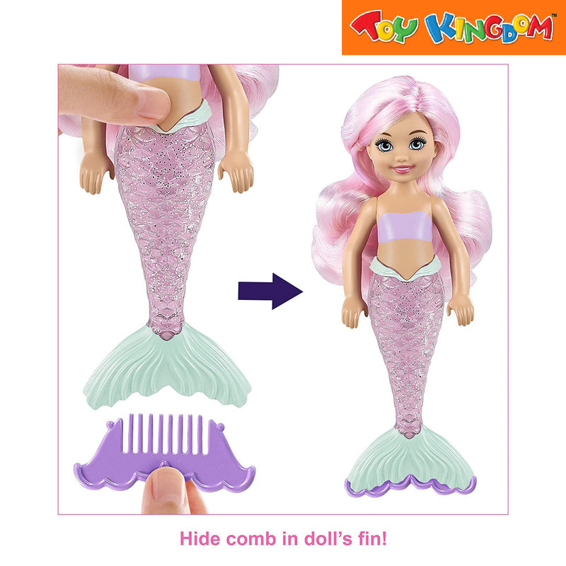 Barbie Paint Reveal Chelsea Mermaid Toys for Girls