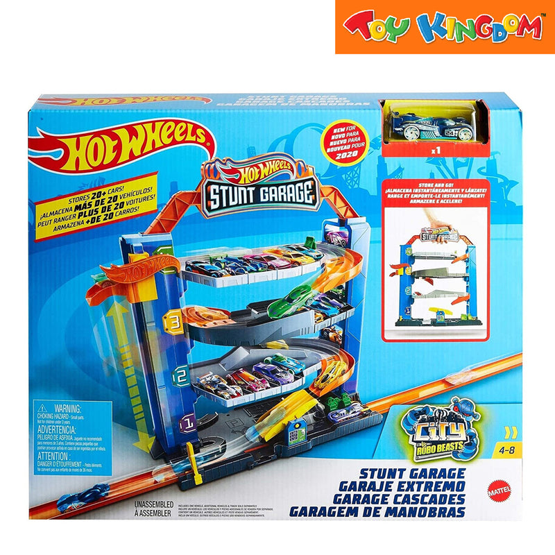 Hot Wheels City Stunt Garage Toy for Boys