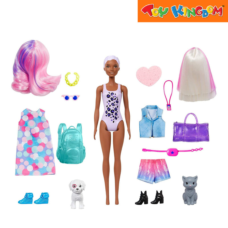 Barbie Fab Paint Reveal Ultimate Gift Set - Carnival-Concert Toy for Girls