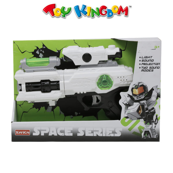 Space Weapon Gun with Lights and Sound for Boys