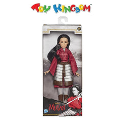 Disney Mulan Movie Fashion Doll with Skirt Armor and Pants for Girls
