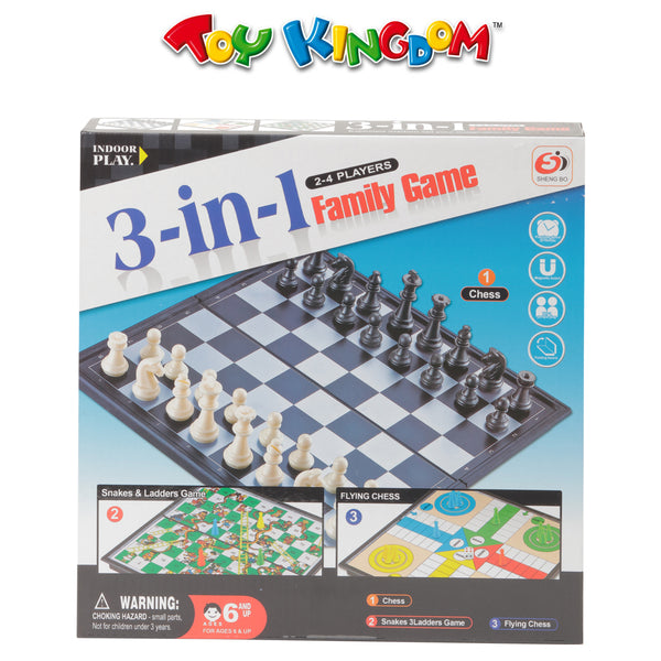 3-in-1 Family Game