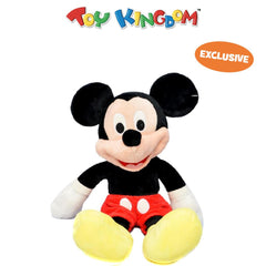 Disney Mickey Mouse Classic 14-inch Mickey Mouse Plush Toy for Kids