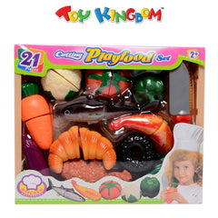 Kitchen Collection Cutting Playfood Set for Kids