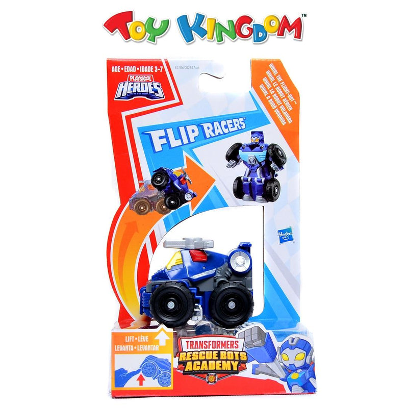 Transformers Rescue Bots Flip Racers -Whirl The Flight - Bot Toy for Boys