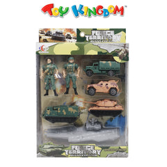Force Territory Military Playset for Kids