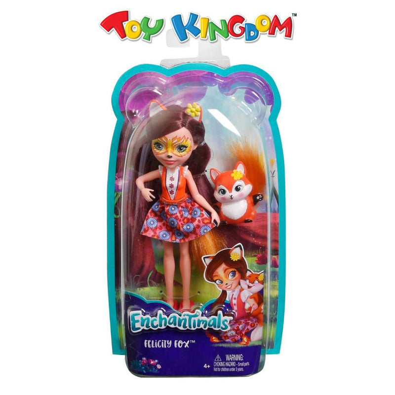 Enchantimals Felicity Fox & Flick Doll Playset for Girls
