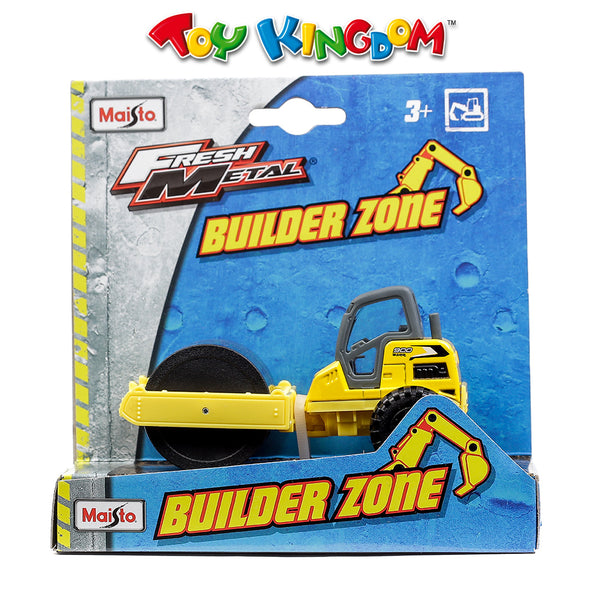 Maisto Fresh Metal Builder Zone 900 BZRR Yellow Construction Vehicle for Kids