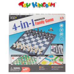 4-in-1 Family Game