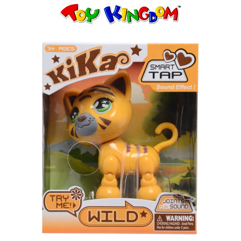 Kika Smart Tap Wild Tiger Collectible Figure Toy for Kids
