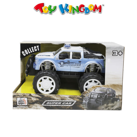 Friction Off-Road Police Car (BLUE)