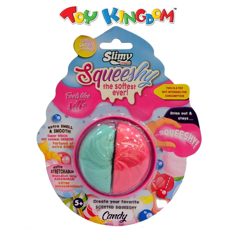 Slimy Scented Squeeshy Candy Series (Cherry/Mint) Toy for Kids