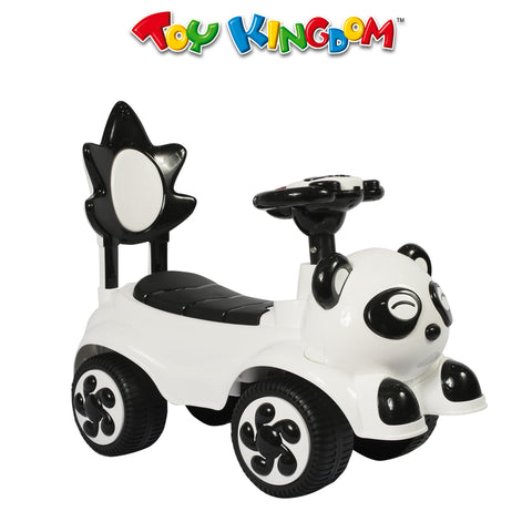 White Panda Ride On Car for Kids