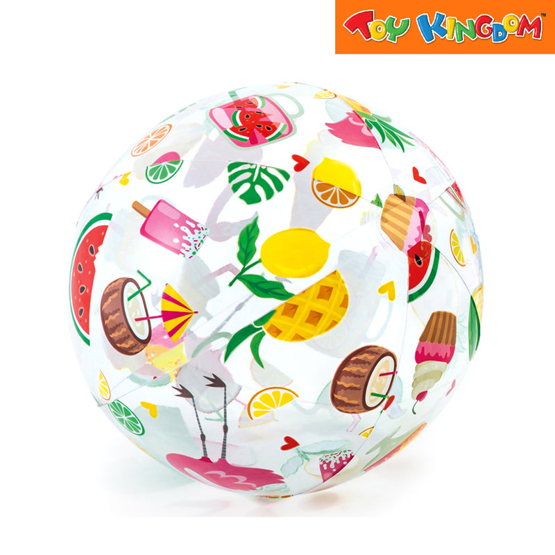 Intex 20 inch Lively Print Beach Ball(Fruits)