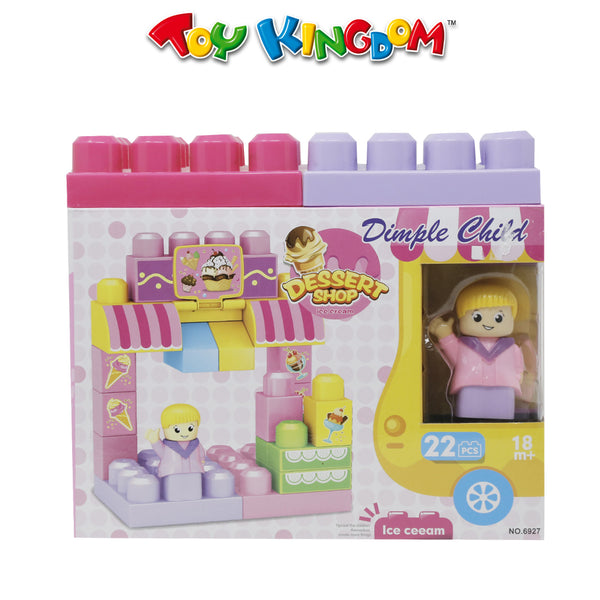 Blocks Dessert Shop Ice Cream 22pcs for Kids