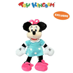 Disney Minnie Mouse 10-inch Minnie Mouse in Blue Polka Dot Dress Plush Toy for Kids