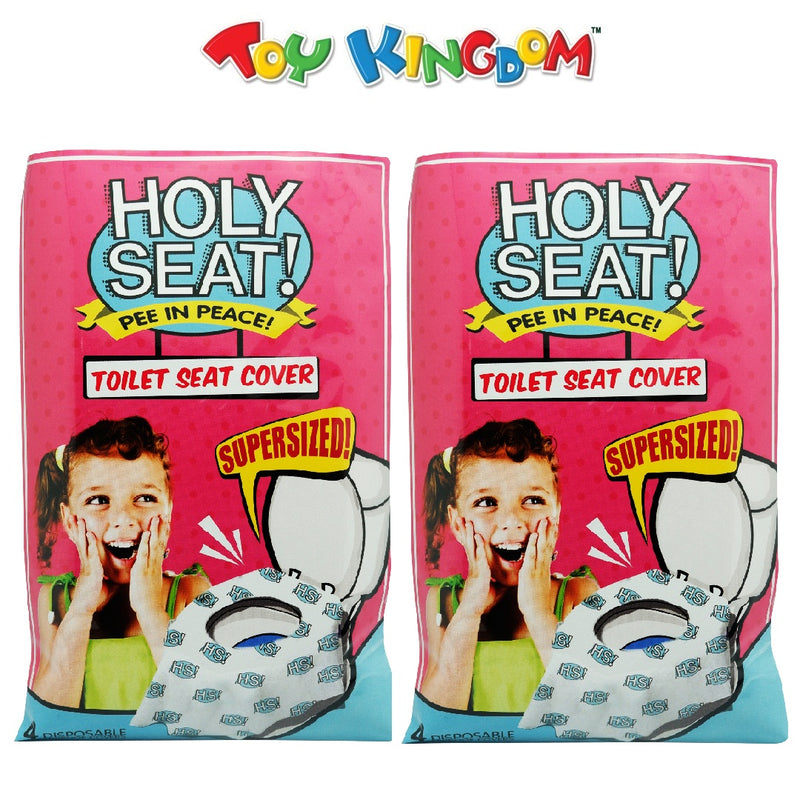 Holy Seat Toilet Seat Cover Oversized (Set of 2)