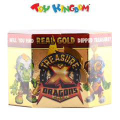 Treasure X Dragons Gold Hunter Pack with Real Gold-Dipped Treasure
