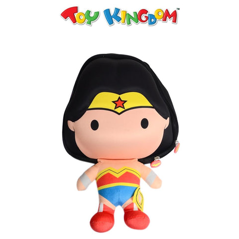 DC Justice League Chibi Bobble-Head Wonder Woman Backpack for Kids