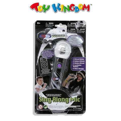 Stylin Sing-A-Long Mic Black for Kids