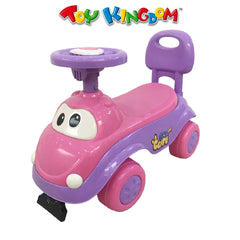 Dream Ride On Car (Purple) For Kids