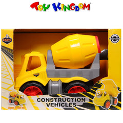 Earth Movers Construction Vehicles Cement Mixer for Boys